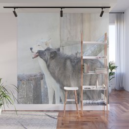 Submitting to the Alpha Wall Mural