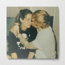 Sheeran and Seaborn Couple Metal Print