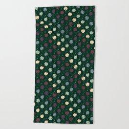 Forest Pattern Beach Towel