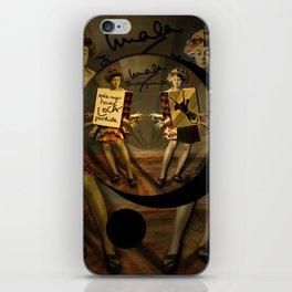 """""""Mala mujer"""" iPhone Skin"""