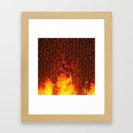 Very Hot! Framed Art Print