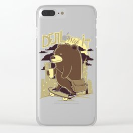 Deal with it Clear iPhone Case