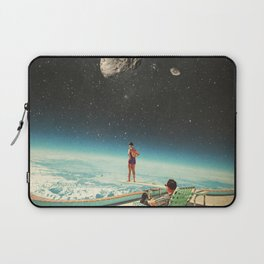 Summer with a Chance of Asteroids Laptop Sleeve