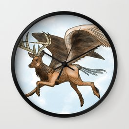 Peryton Wall Clock