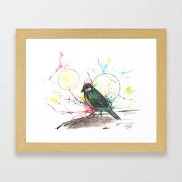 The Brave Framed Art Print