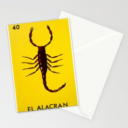 El Alacran Stationery Cards