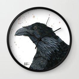 Raven Croft 2 Wall Clock