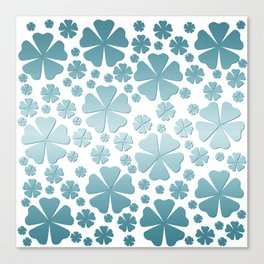Clover happiness 219 Canvas Print