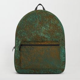 Green Patina Copper rustic decor Backpack
