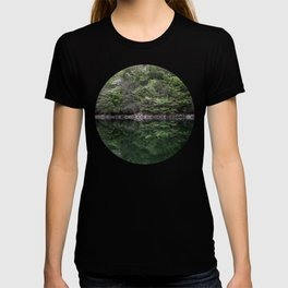 Reflections in lake T-shirt