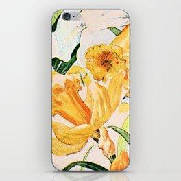 Wordsworth  and the daffodils. iPhone Skin