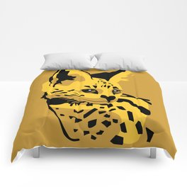 Serval Comforters