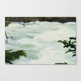Slow Shutter Falls Canvas Print