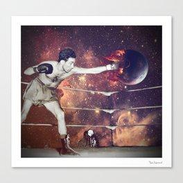 Kick Canvas Print