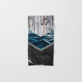 Striped Materials of Nature IV Hand & Bath Towel