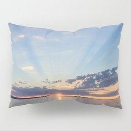 A Seattle Sunset Pillow Sham