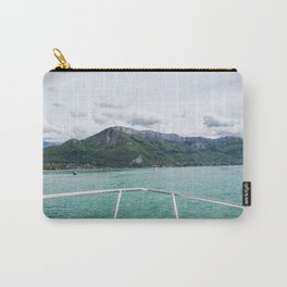 Cruising around Lake Annecy Carry-All Pouch