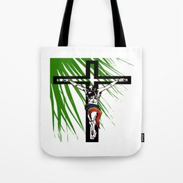 The Holy Week Christs Journey To The Cross Tote Bag