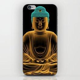 Buddha glow iPhone Skin