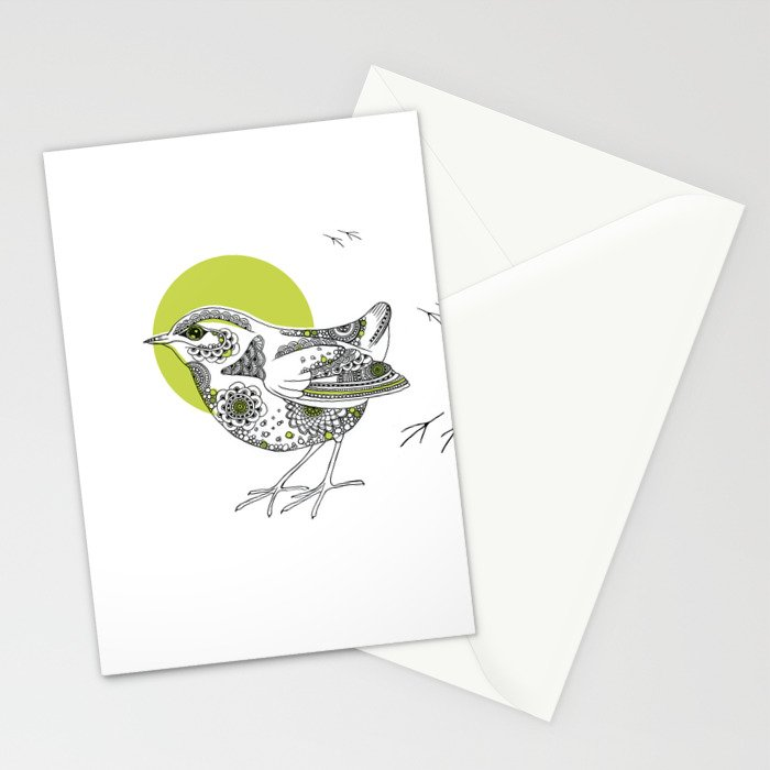 Bush Wren Xenicus Longipes Stationery Cards