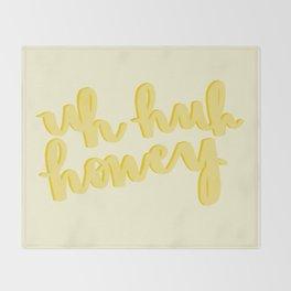 Uh Huh Honey Yellow Decke