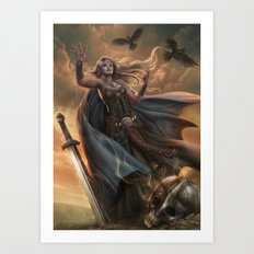 The witch queen Art Print