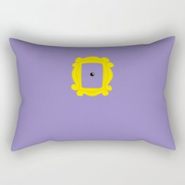 Friends Peephole Frame Rectangular Pillow