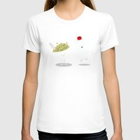 milk T-shirts featuring Cereal & Milk  by Terry Irwin
