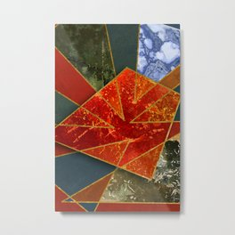 Abstract #330 Metal Print