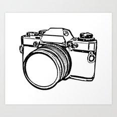 Camera 2 Art Print