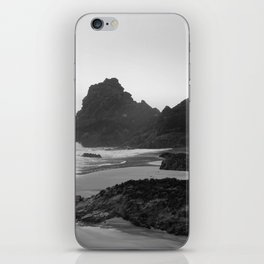 Mist Rolling in at Kynance Cove iPhone Skin