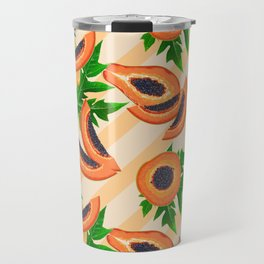 Papaya Party Travel Mug