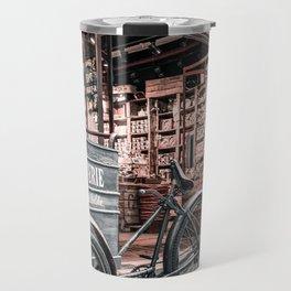 Living room, decoration, gift, Paris, chocolate, art, vintage Travel Mug