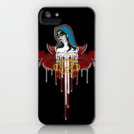 Day of the Dead Saint iPhone Case