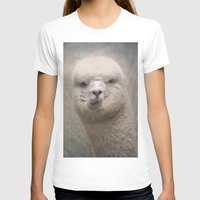 alpaca T-shirts featuring Alpaca! by Pauline Fowler ( Polly470 )