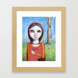 Little Red by Kylie Fowler Framed Art Print