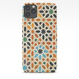 Details of Lindaraja in the Alhambra iPhone Case