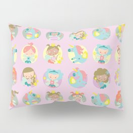 Fairies and unicorns Pillow Sham