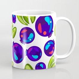 pattern of juicy blueberries Coffee Mug