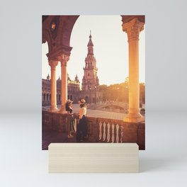 Plaza de Espana, Seville, Spain Mini Art Print