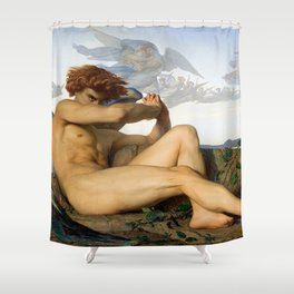 Fallen Angel Alexandre Cabanel Shower Curtain