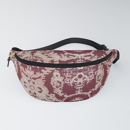 Baroque Red Fanny Pack
