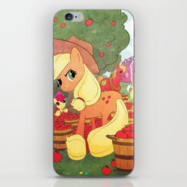 Applejack and Family iPhone Skin