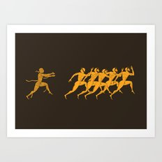 Ancient Greece Art Print