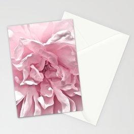 Pink Blush Rose 2 Stationery Cards