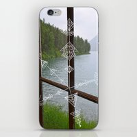 compass iPhone & iPod Skins featuring Compass by Claire Lester