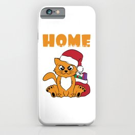 """Perfect gift this coming holiday! Give the best and cutest gift ever. Grab this """"Christmas Cat"""" now! iPhone Case"""