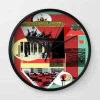 berlin Wall Clocks featuring Berlin. by Grant Pearce