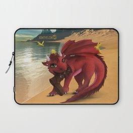 Dragonlings of Valdier: Amber Laptop Sleeve