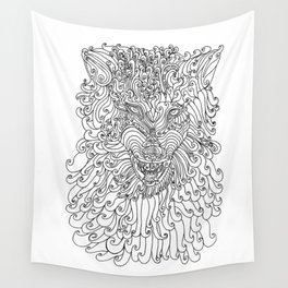 The Way of Wolf Wall Tapestry